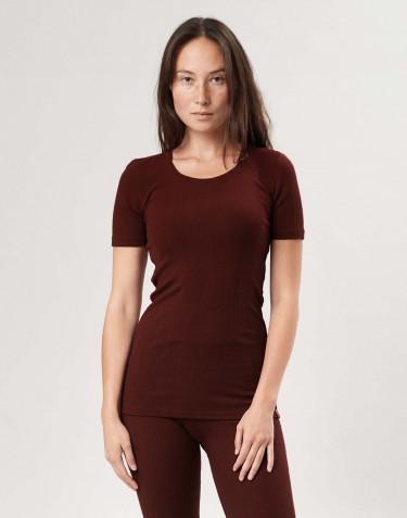 Merinould T-shirt til kvinder