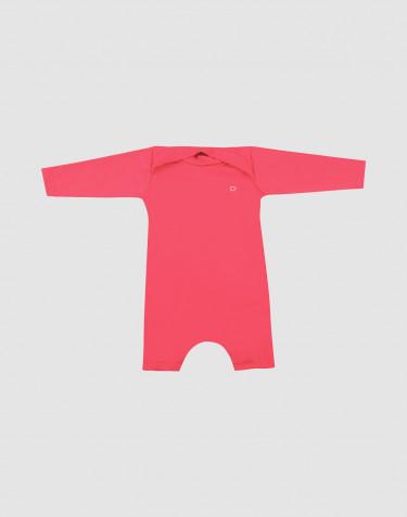 Baby heldragt med UV-beskyttelse UPF 50+ pink