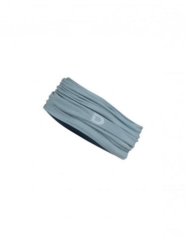 Halsedisse til kvinder i eksklusiv merino uld mineral blå