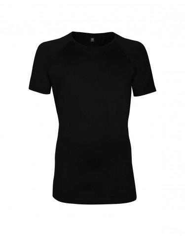 Merino t-shirt herre - eksklusiv merino uld sort