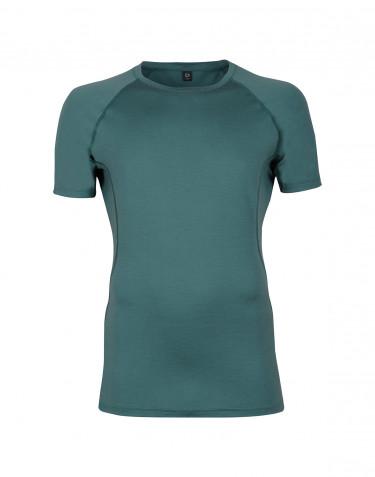 Merino t-shirt herre - eksklusiv merino uld hydrogrøn