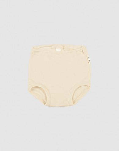 Merinould/silke underbukser til baby