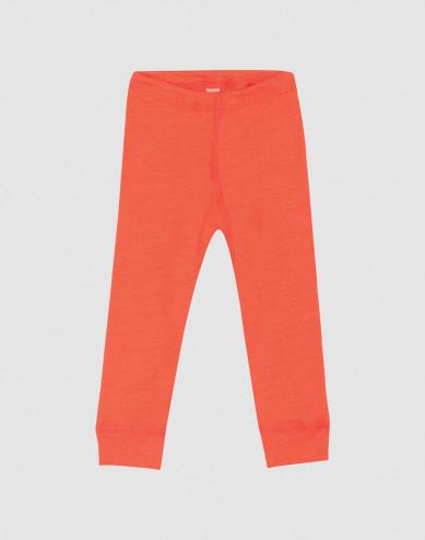 Merinould/silke leggings til baby