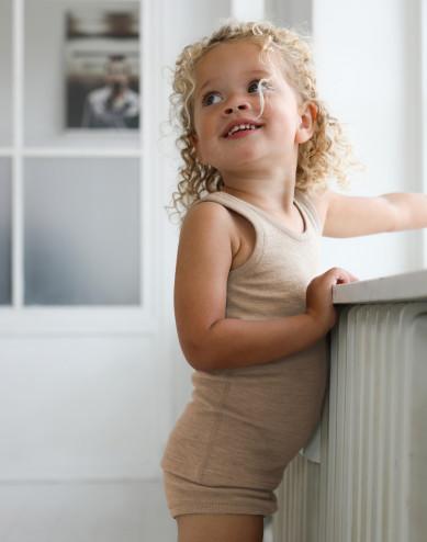Merinouldundertrøje til børn