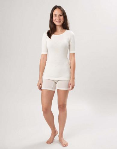 Merinould/silke shorts til kvinder