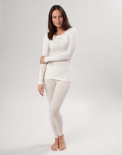 Merinould/silke leggings til kvinder