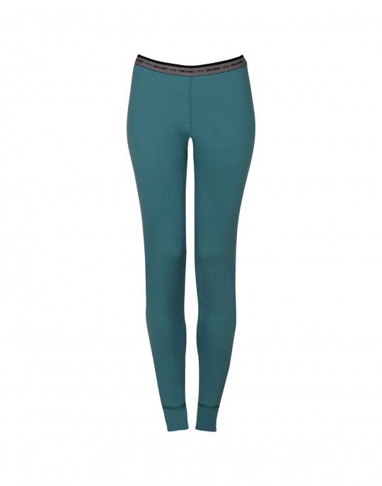 Leggings dame eksklusiv merino uld hydrogrøn | DILLING underwear