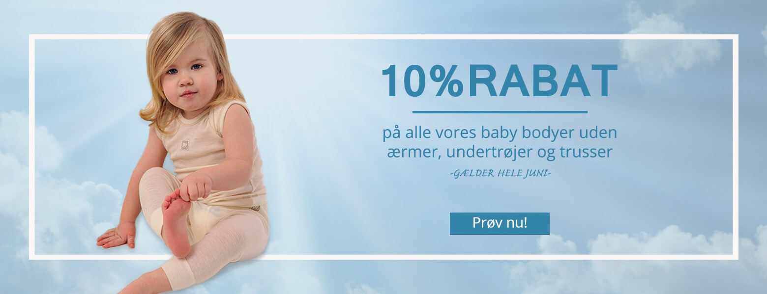 10% for babies products